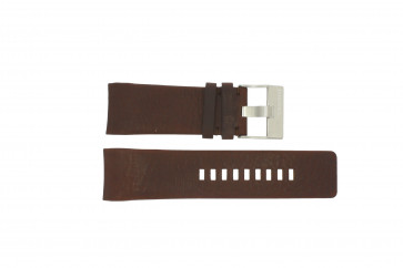 Diesel pulseira de relogio DZ4029 Couro Marrom 28mm