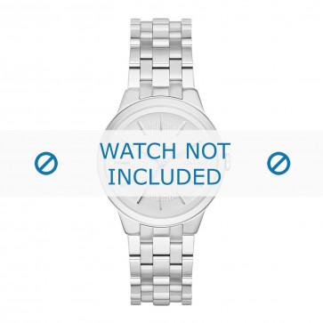 DKNY pulseira de relogio NY2381 Metal Prata 17mm
