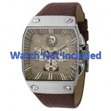 Pulseira de relógio Diesel DZ9038 Couro Marrom 32mm