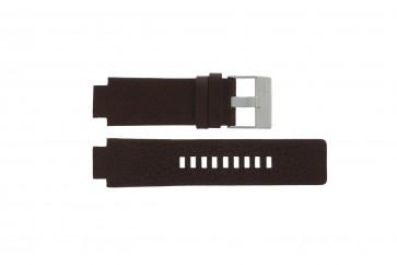 Diesel pulseira de relogio DZ1123 / DZ1090  Couro Marrom 18mm