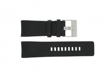 Diesel pulseira de relógio DZ4031 / DZ4032 / DZ4028 Couro Preto 29mm
