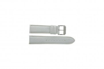Festina pulseira de relógio F16101/B Couro Branco 22mm