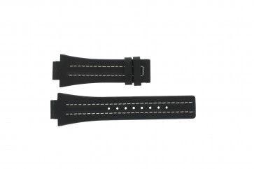 Pulseira de relógio Festina F16185 / 1 Couro Preto 16mm