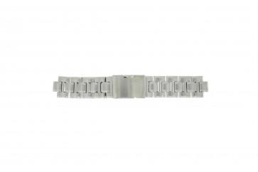 Fossil pulseira de relógio CH-2566 Aço Prata 11mm