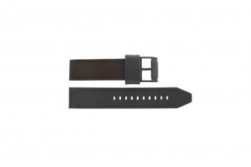 Fossil pulseira de relogio CH2782 / FS4656 / FS5251SET / FTW1163 Couro Marrom 22mm + costura marrom