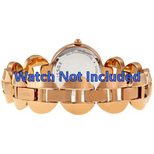 Fossil pulseira de relógio ES-3011 Aço Dourado (Rosé) 24mm