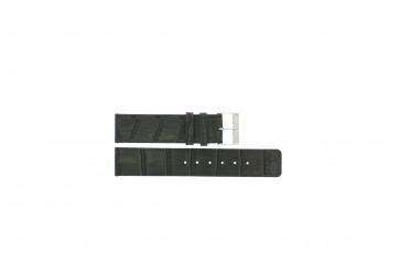 Pulseira de relógio Universal G810 Couro Cinza 20mm