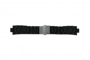 Guess pulseira de relogio I15056L1 / I11040L1 / I11005G2  Borracha / plástico Preto 22mm