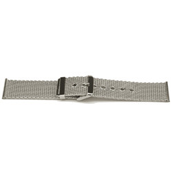 Geen merk pulseira de relogio YI47 Metal Prata 24mm