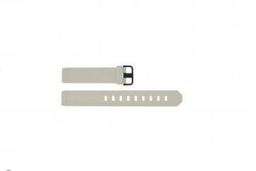 Pulseira de relógio Jacob Jensen 700 / 754 Borracha Branco 17mm