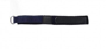 Bracelete em velcro em azul marinho 14 mm