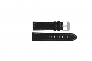 Bracelete Lotus L15813/4 couro preto
