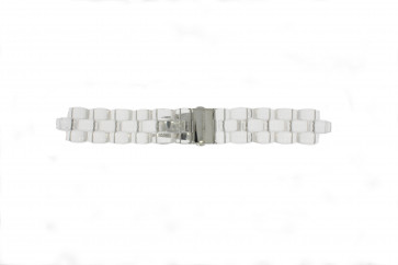 Michael Kors pulseira de relogio MK5235 Plástico Transparente 22mm