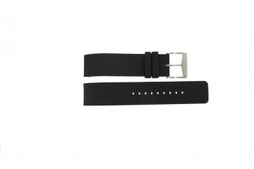 Michael Kors pulseira de relogio MK8040 / MK8055 Borracha Preto 22mm