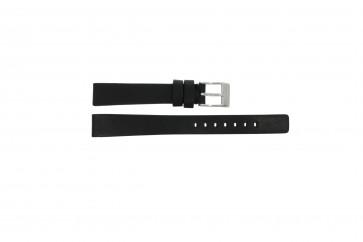 Diesel pulseira de relógio DZ-2074 Couro Preto 14mm