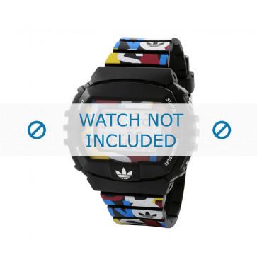 Adidas pulseira de relógio ADH6080 Plástico Preto 26mm
