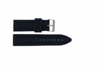 Pulseira de relógio Universal 253 Silicone Azul 26mm