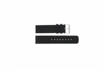 Pulseira de relógio Skagen 224LSL / 224LSLB / 224LSLN Couro Preto 22mm