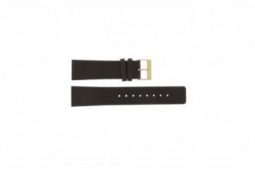 Skagen pulseira de relógio 233XXLGL Couro Castanho 23mm