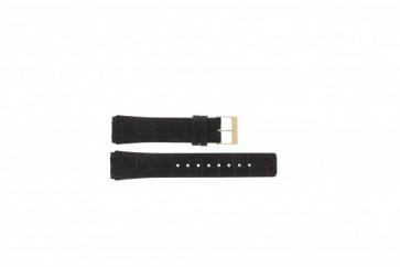 Pulseira de relógio Skagen 331XLRLD / 331XLRLDO Couro Marrom 19mm
