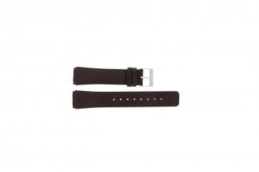 Pulseira de relógio Skagen 331XLSLD1 / 331XLSL1 Couro Marrom 20mm