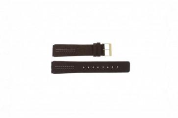 Pulseira de relógio Skagen 433LGL1 Couro Marrom 18mm