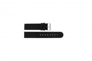 Skagen pulseira de relogio 533LTLW / 533LTLM Couro Preto 20mm