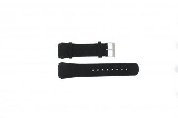 Skagen pulseira de relógio 856XLSLC Couro Preto 26mm