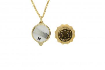 Pendente SOS talismã com corrente (soshk)