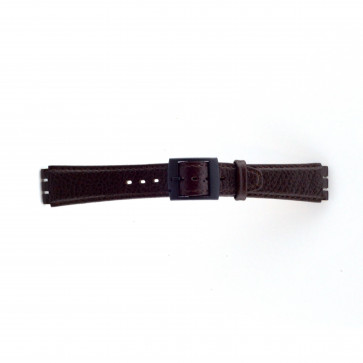 Bracelete para Swatch castanha 17mm PVK-SC04.02