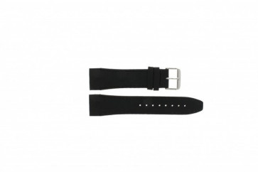Tommy Hilfiger pulseira de relogio TH17-90-833 Couro Preto 24mm + costura preto