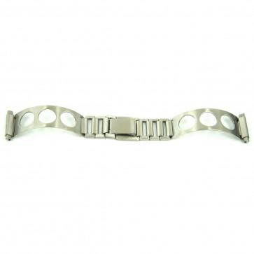 Trecho de bracelete cromo que encaixa em todos os relógios de senhora com tamanho de 10 a 14mm EC611