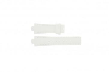 Breil pulseira de relogio TW0394 / F660012788 Couro Branco 12mm + costura branca