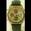 Pulseira de relógio Seiko 7T42 6A0B / SDX014J1 Couro Preto 20mm