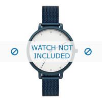 Skagen pulseira de relogio SKW2579 Metal Azul 12mm