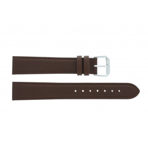 Pulseira de relógio Universal 054.02 Couro Marrom 10mm