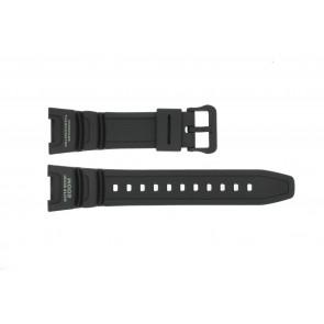 Pulseira de relógio Casio SGW-100-1V10304195 Silicone Preto 24mm