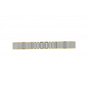 Pulseira de relogio 16BI Metal Prata 16mm