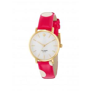 Pulseira de relógio Kate Spade New York 1YRU0224 Couro Rosa 16mm