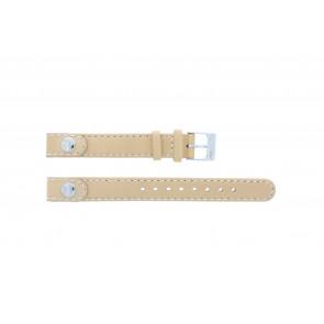 Lacoste pulseira de relogio 2000385 / LC-05-3-14-0009 / BE Couro Bege 12mm + costura padrão