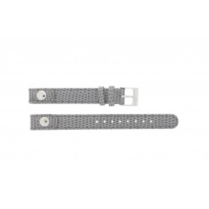 Lacoste pulseira de relogio 2000385 / LC-05-3-14-0009 / GR Couro Cinza 12mm + costura cinza