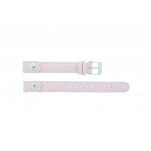 Lacoste pulseira de relogio 2000387 / LC-05-3-14-0009 Couro Rosa 12mm + costura padrão