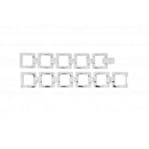 Lacoste pulseira de relogio 2000490 / LC-05-3-18-0161 Metal Prata 13mm