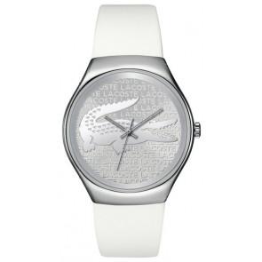 Lacoste pulseira de relogio 2000785 / LC-71-3-14-2444 Silicone Branco 18mm