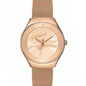 Lacoste pulseira de relogio 2000872 / LC-71-3-34-2538 Metal Vinho rosé 18mm