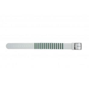 Lacoste pulseira de relogio 2000892 / LC-84-3-14-2596 Silicone Verde 18mm