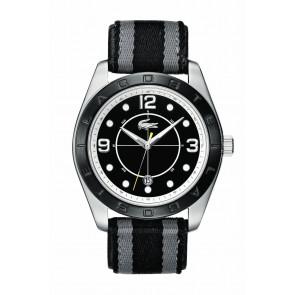 Pulseira de relógio Lacoste 2010575 / LC-53-1-34-2267 Couro Preto 24mm