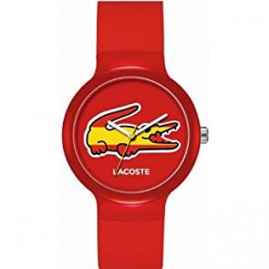 Lacoste pulseira de relogio LC-46-4-47-2504 /2020071 / 20mm Borracha Multicolorido 14mm