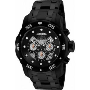 Pulseira de relógio Invicta 25334.01 Aço Preto 26mm