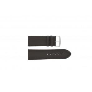 Pulseira de relógio Universal 306.02 Couro Marrom 32mm